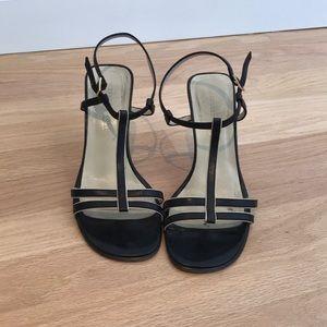 Black Kenneth Cole t-strap shoe